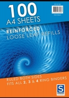 Loose Leaf Refill Sheets