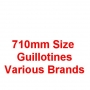 710mm Size Guillotines