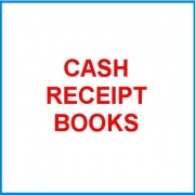 CASH RECEIPT BOOKS