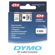 Dymo D1 Labelling Tape 6mm