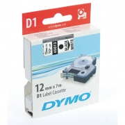 Dymo D1 Labelling Tape 12mm