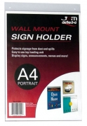 Sign Holder Wall Mount