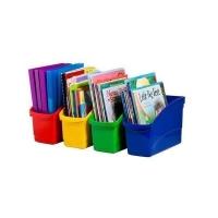 Elizabeth Richards Plastic Book Tubs