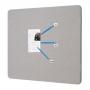 Quartet Fabric Oval Frame Pinboards