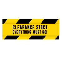 * Clearance Items *