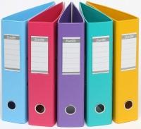 BANTEX LEVER ARCH FILE PVC Vibrant Colours
