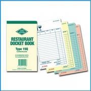 Restaurant Docket Books