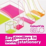 colourhide GLO desk accessories