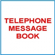 Telephone Message Books