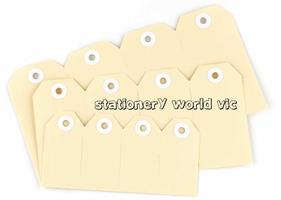 AVERY SHIPPING TAGS No 1 Buff (35x70mm) Pack of 100