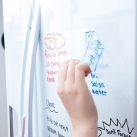 Visionchart Whiteboard On A Roll Clear Matte 1220mm x 1Mt