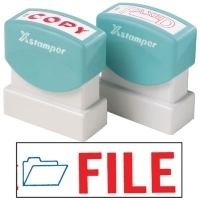XSTAMPER STAMP - File (2 colour) 2028 (5020280)