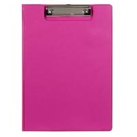 Marbig Clipboard Folder A4 PVC Summer Colours 4300609A Pink