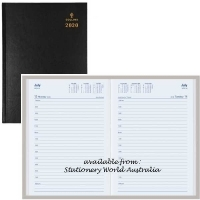 Collins 2020 Sterling Diary A5 1 Day/Page Black 184.P99