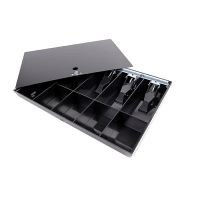 ESSELTE CASH DRAWER 30066 Black 10 Compartment Cash Tray