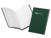 Collins Notebook A4 Short Green 168page A-Z Hardcover 05804