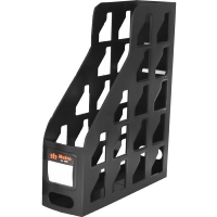 Metro Magazine File Holder 3462 Plastic Black