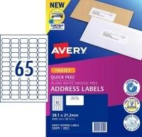 Avery Inkjet Label J8651 PK50 65/sheet