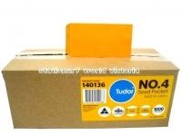Tudor Envelope 107x60 P4 Seed MoistSeal Gold BX1000 140136
