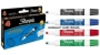 Sharpie Whiteboard Marker AP013207 Bullet Asstd PK4