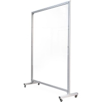 Visionchart Mobile Screen Guard Straight 1800x1200mm Clear