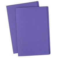 Avery Manilla Folders Coloured Fcap  BX100 Purple
