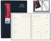 Vanessa 2020-2021 Financial Year Diary FY345 A4 Week Open Black