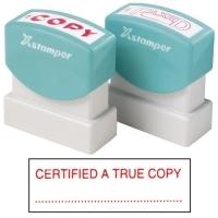 XSTAMPER STAMP - Certified A True Copy (Red) 1541 (5015412)