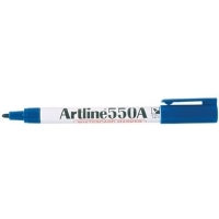 Artline Whiteboard Marker 550A Blue BX12