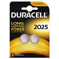 Duracell Lithium Button Battery DL2025 PKT2