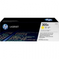 HP Toner 305A CE412A Yellow