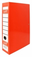 Bantex Box File 1417 H/D Fcap 70mm Spring Fitting Red