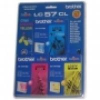 Brother Ink Cartridge LC57C3PK  3pack(1ea Cyan Magenta Yellow)
