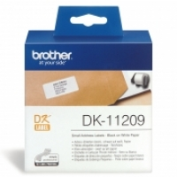 Brother DK11209 White Address Label 29x62 BX800