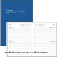 2022 Collins Kingsgrove Diary A4 2 Days/Page 241.P59 Blue