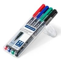 Staedtler 313 Lumocolor Pens Superfine 313WP4 WLT4