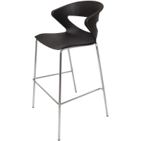 Rapidline Taurus Stacking Bar Stool Black