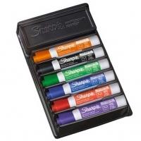 Sharpie Whiteboard Marker AP013208 Bullet KIT 6 Asstd + Eraser