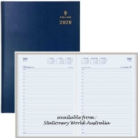 Collins 2020 Sterling Diary A4 1 Day/Page Navy 144.P59