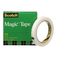3M Scotch Magic Invisible Tape 810 12mm x 66M Roll