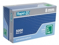 Rapid Staples 140/8 8mm Box 5000