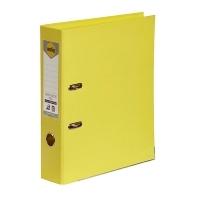 MARBIG PE LINEN LEVER Arch File A4 Lemon