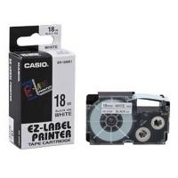 Casio Label Tape XR18WE 18mm Black/White