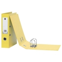 Marbig Lever Arch File PVC Standard A4 6501005 Yellow