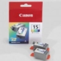 Canon Ink Cartridge BCI15C Colour i80/i90 (2pack)