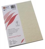 Quill Parchment Paper A4 90gsm PK100 06265 Natural