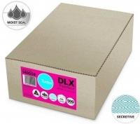 Tudor Envelope 120x235 DLX MoistSeal White Bankers Sec BX500