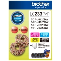 Brother Ink Cartridge LC233 Photo Value Pack