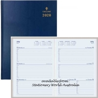 Collins 2020 Sterling Diary A4 Week Open Navy 344.P59