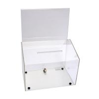 Deflecto Ballot Box A5 Landscape 66601 Clear